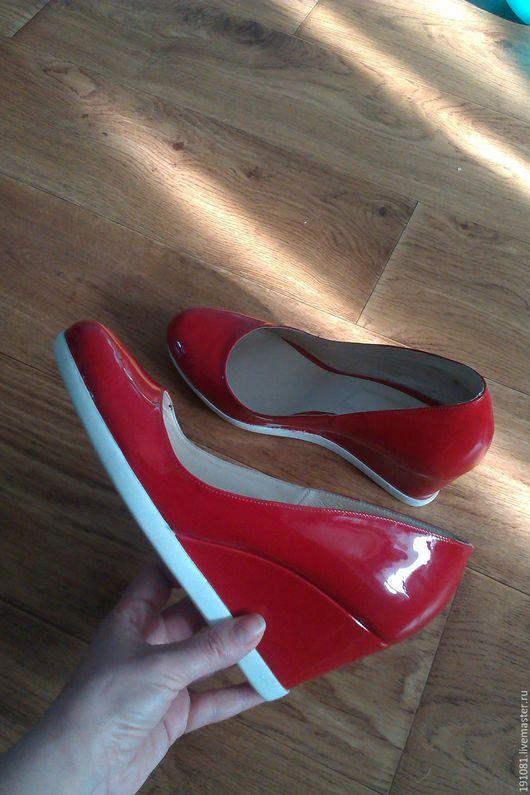 Обувь ручной работы. Ярмарка Мастеров - ручная работа. Купить туфли(21). Handmade. Комбинированный, индивидуальный дизайн