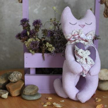 Спящий котик тильда