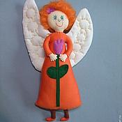 Куклы и игрушки ручной работы. Ярмарка Мастеров - ручная работа Кукла Рыжий ангел. Handmade.