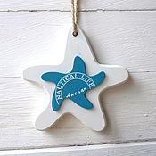 Для дома и интерьера handmade. Livemaster - original item Decor in marine style. star. Handmade.