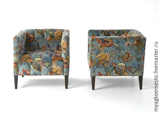 """Мебель ручной работы. Ярмарка Мастеров - ручная работа. Купить Кресло """"Птичка"""". Handmade. Комбинированный, для столовой, стул, мягкий стул"""