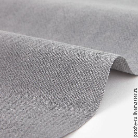 Шитье ручной работы. Ярмарка Мастеров - ручная работа. Купить Корейский хлопок Dailylike 325 Pigment washing  mild gray. Handmade.