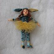 """Куклы и игрушки ручной работы. Ярмарка Мастеров - ручная работа Кукла - болтушка """"Зая"""". Handmade."""