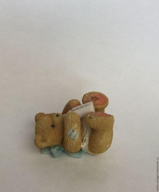 Винтажные сувениры. Ярмарка Мастеров - ручная работа. Купить Винтажная статуэтка из коллекции-Мишки Тедди, Priscilla Hilman.. Handmade. Винтаж