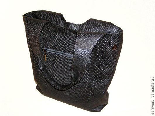Женские сумки ручной работы. Ярмарка Мастеров - ручная работа. Купить Сумка Audrey black. Handmade. Сумка кожаная