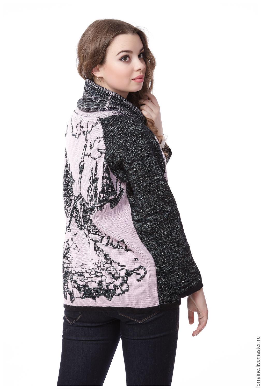 Белый свитер с горлом женский доставка