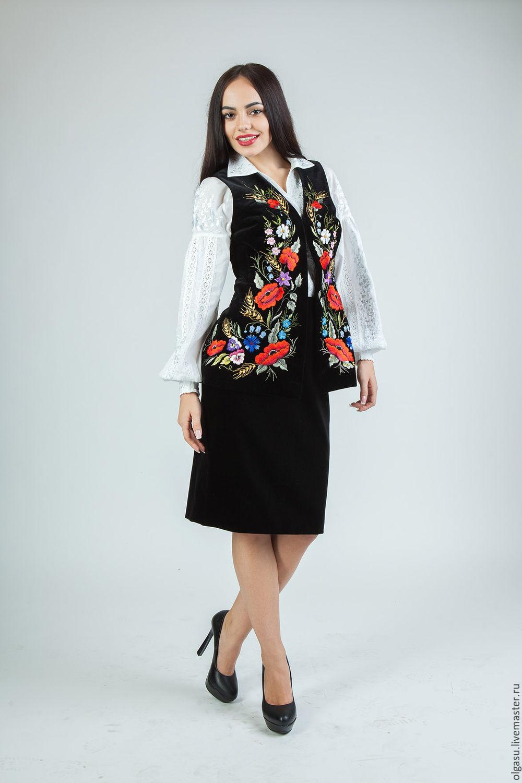 Одежда с вышивкой купить в украине
