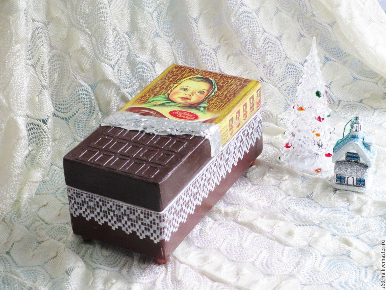 Шкатулка `Алёнка`,шоколад  из детства.