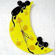 Для дома и интерьера ручной работы. Ярмарка Мастеров - ручная работа Сырные часики. Handmade.