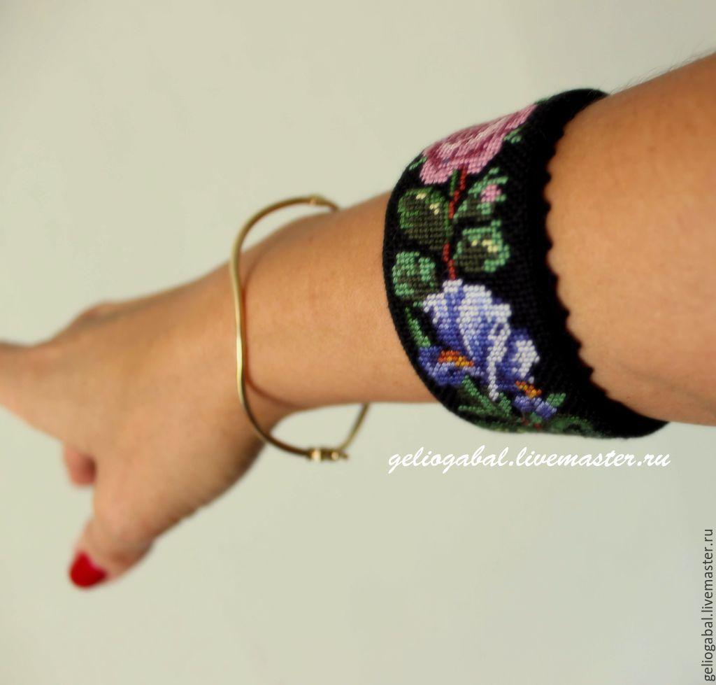Вышивка крестом браслетов