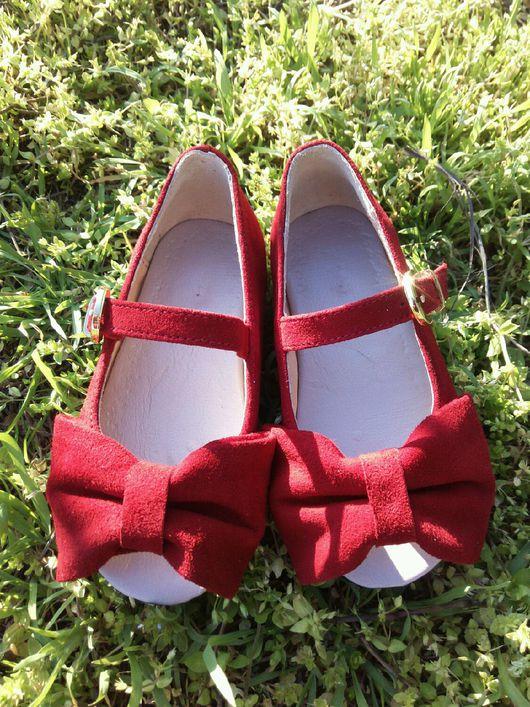 Детская обувь ручной работы. Ярмарка Мастеров - ручная работа. Купить Летние туфли с открытым носиком. Handmade. Детская обувь
