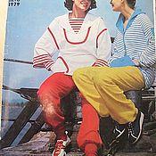 Винтаж ручной работы. Ярмарка Мастеров - ручная работа Журнал Мод № 2 1979 год на русском языке. Handmade.