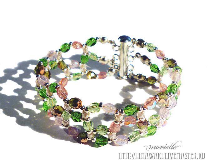 bracelet, Bead bracelet, Moscow,  Фото №1