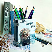 Канцелярские товары handmade. Livemaster - original item Pencil holder