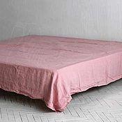 Для дома и интерьера handmade. Livemaster - original item EURO 230h240 cm linen sheet - Luxury linen made of soft linen. Handmade.