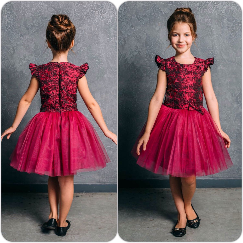 Где купить платье пышное на девочку