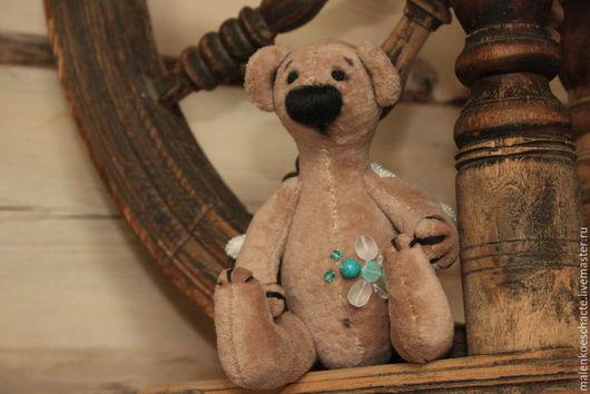 Медвежонок тедди Нюхач из плюша в бохо стиле