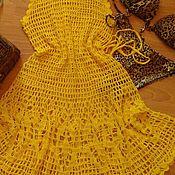 Одежда ручной работы. Ярмарка Мастеров - ручная работа Пляжное платье Каролина. Handmade.