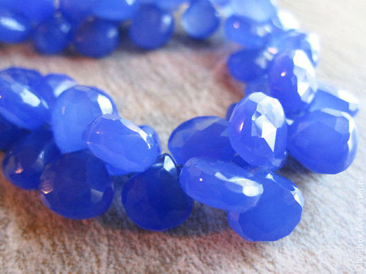 Халцедон BLUE COBALT от Нины(SilverBox) Для украшений