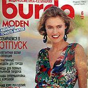 Выкройки для шитья ручной работы. Ярмарка Мастеров - ручная работа Журнал Burda Moden № 6/1990. Handmade.