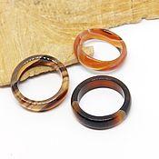 Украшения handmade. Livemaster - original item Ring of agate Sunsets Africa 18 R-R. Handmade.