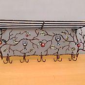 Для дома и интерьера ручной работы. Ярмарка Мастеров - ручная работа Вешалка с летучими мышками. Handmade.