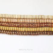 Бусины ручной работы. Ярмарка Мастеров - ручная работа Бусины / дерево / шайбы 8х3.5 мм. Handmade.