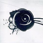 Украшения ручной работы. Ярмарка Мастеров - ручная работа Розы из органзы. Handmade.