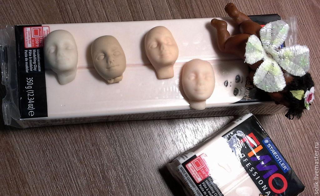 Полимерный пластик для кукол