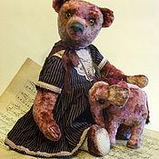"""Куклы и игрушки ручной работы. Ярмарка Мастеров - ручная работа Авторский медведь Тедди """"Зоя со слоником""""). Handmade."""