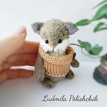 Куклы и игрушки ручной работы. Ярмарка Мастеров - ручная работа Котёнок Гришка. Handmade.