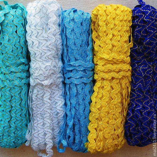 Тесьма плетеная вьюнчик (вьюнок)