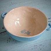 """Посуда ручной работы. Ярмарка Мастеров - ручная работа Пиалка """"Велосипед"""". Керамика. Handmade."""