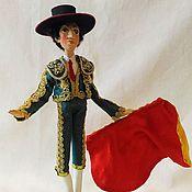 Куклы и игрушки handmade. Livemaster - original item The BULLFIGHTER dolls. Handmade.