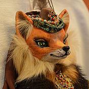 Куклы и игрушки handmade. Livemaster - original item interior doll Lisa Sultana. Handmade.