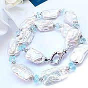 Украшения handmade. Livemaster - original item Pearl necklace made of Baroque pearls