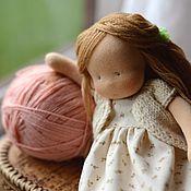 Мягкие игрушки ручной работы. Ярмарка Мастеров - ручная работа Ласточка, кукла-негрустинка 23см. Handmade.