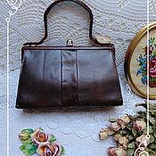 Винтаж ручной работы. Ярмарка Мастеров - ручная работа Женская сумка из змеинной кожи, винтаж, Австрия. Handmade.