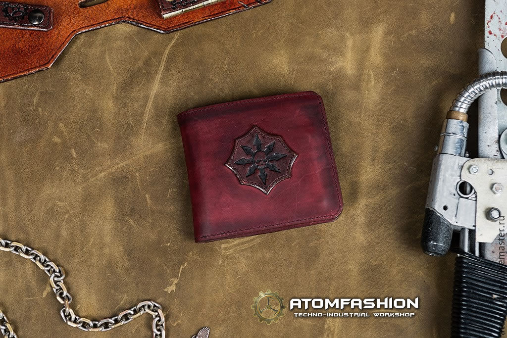 Man leather wallet 'Chaos Star', Wallets, Moscow,  Фото №1