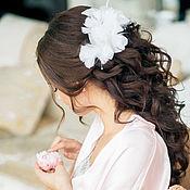 Свадебный салон ручной работы. Ярмарка Мастеров - ручная работа заколки для невесты. Handmade.