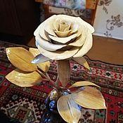 Подарки на 8 марта ручной работы. Ярмарка Мастеров - ручная работа Роза в ботинке. Handmade.