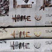 Материалы для творчества ручной работы. Ярмарка Мастеров - ручная работа Ткань для пэчворка  Sweet Home. Handmade.