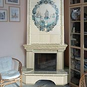 Для дома и интерьера handmade. Livemaster - original item Delft fireplace. Handmade.