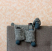 """Куклы и игрушки ручной работы. Ярмарка Мастеров - ручная работа Вязаная интерьерная игрушка-пультяшница """"Овечка"""". Handmade."""
