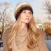 Аксессуары handmade. Livemaster - original item Hat female knitted