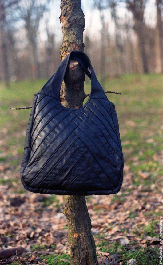 Женские сумки ручной работы. Ярмарка Мастеров - ручная работа. Купить женская сумка из натуральной кожи. Handmade. Кожаная сумка