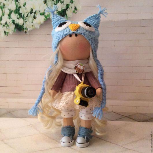 Куклы тыквоголовки ручной работы. Ярмарка Мастеров - ручная работа. Купить Стеша. Handmade. Комбинированный, кукла на заказ, хлопок 100%