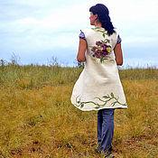 """Одежда ручной работы. Ярмарка Мастеров - ручная работа Жилет """" viola"""". Handmade."""