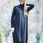 Одежда handmade. Livemaster - original item Women`s cotton sleeve jumpsuit - JP0347TR. Handmade.