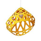 Для дома и интерьера ручной работы. Ярмарка Мастеров - ручная работа ZAHA LIGHT желтый  потолочный подвесной светильник. Handmade.